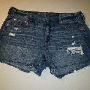 American Eagle Distressed Shorts, Size 14